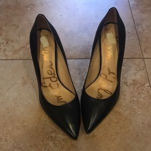 Sam Edelman Shoes - Sam Edelman Hazel Pointed Toe Black Pumps Size 10